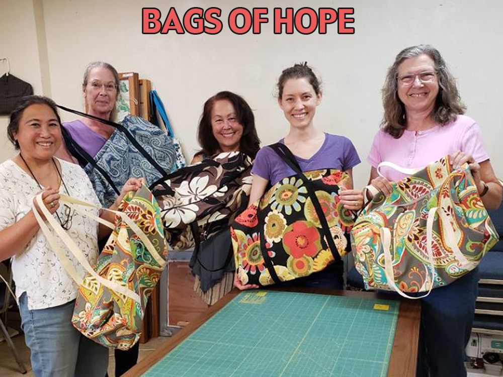 BAGS OF HOPE POST