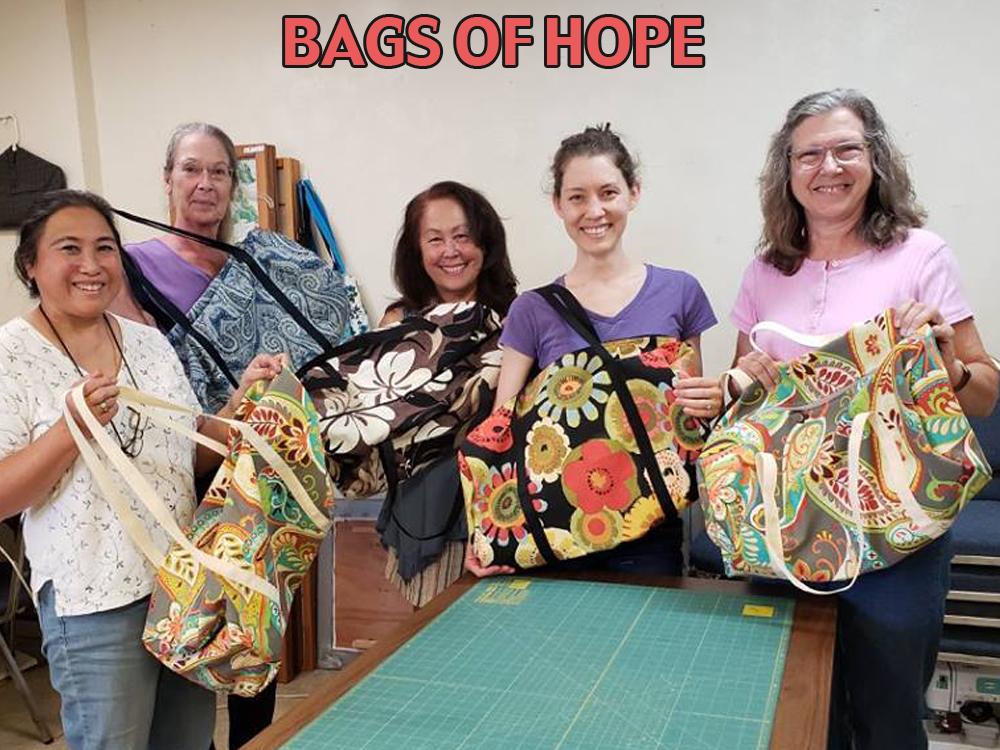 BAGS OF HOPE POST